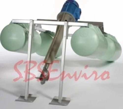 Automatic Aspirator Type Aerators, Surface Floating