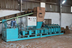 Hydraulic Coco Pith Block Making Press