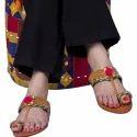 Multicolor Hue Ladies Kolhapuri Slipper