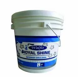 Walfit Paints High Gloss Interior Emulsion Paint, Packaging Type: Bucket, Packaging Size: Bucket