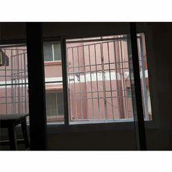 Aluminium Balcony Windows With Netlon