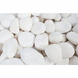 White Decorative Pebble, For Decoration