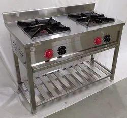 STEELGOLD 2 Two Burner Punjabi Cooking Range