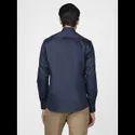 Green Hill Men's Designer Navy Blue Shirt