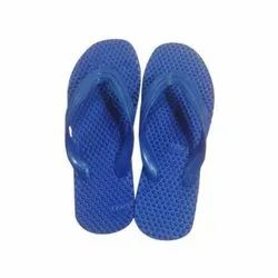 Blue Rubber Slipper