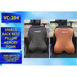 Cotton Plain Sparco Backrest Pillow