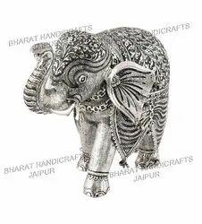 Oxidized Metal Elephant