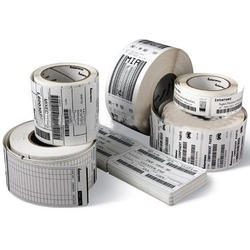 Adhesive Barcode Label
