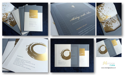 Pull-Out Insert Royal Designer Marriage Cards 10