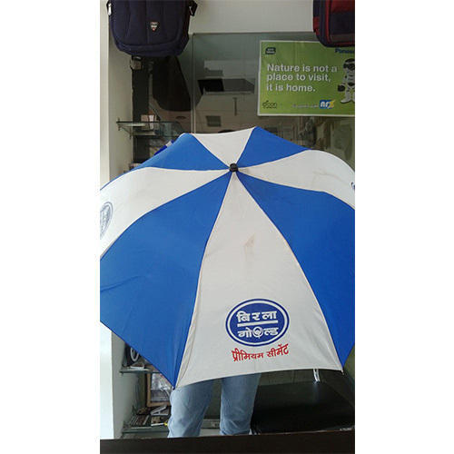 813c50f534246 Blue, White Polyester Promotional Umbrella, Rs 85 /piece | ID ...