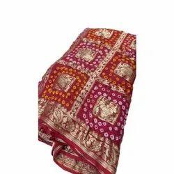 Embroidered 7 Meter ( with blouse piece ) Indian Banarasi Silk Saree