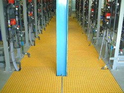 Moulded GRP Floor Grating