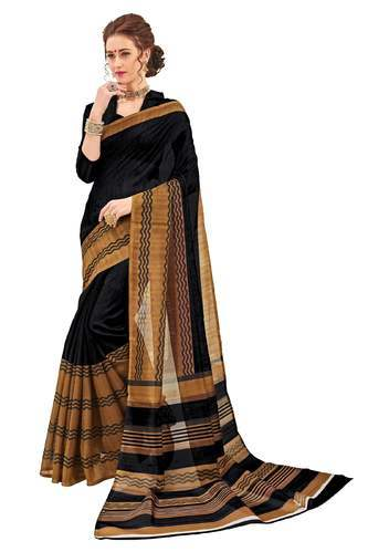 019c8f65266 Festive And Party Wear Silk Designer Fancy Bhagalpuri Printed Saree ...