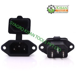 Kisan Tools Battery Sprayer Pump Charging Socket, 12 V