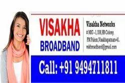 Broadband Fiber Wireless Internet Service, in vizag, Unlimited