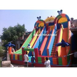 Inflatable Big Slide Bouncer