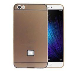 Alluminium Metal Bumper Case Cover for Xiaomi Mi5 (Golden)