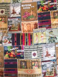 Polyester Synthetic textile printing