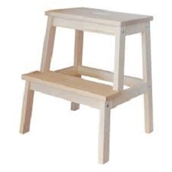 Stairs Wooden Stool