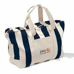 Striped Pattern Promotional Beach Bag