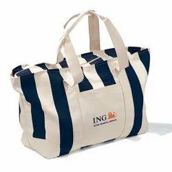 Striped Pattern Promotional Beach Bag