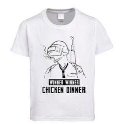 Cotton White Printed T Shirt