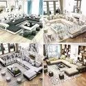 U Shape Modern Sofa Set, Warranty: 1 Year