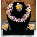 Artificial Floral Jewellery-001