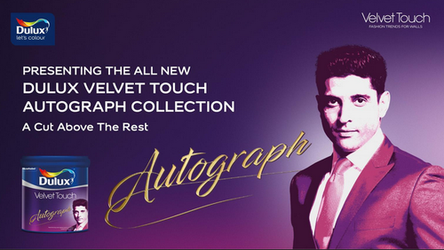 Dulux Velvet Touch Autograph Collection Paints