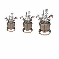 Stainless Steel Pressure Vessel, Capacity: 20-100 L