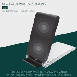 W3  Dual - Coil Wireless Charging Stand