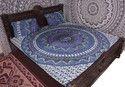 Cricle Of Star Print Mandala Duvet Cover