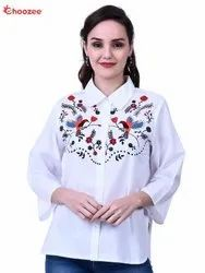Inspire Women Shirt with Embroidery