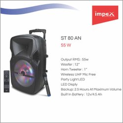 Impex Trolley Speaker System ( ST 80AN)