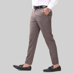 Regular Fit Mens Cotton Formal Pant