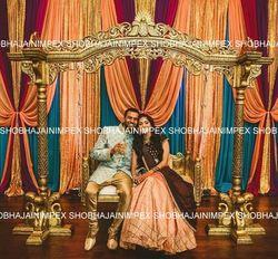 Peacock Theme Wedding Jhula