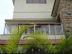 Ss Railings Ss Stair Case Glass Railing Manufacturer From Mumbai