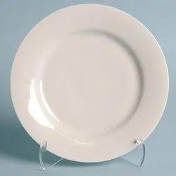 Classic White Ceramic Plate