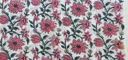 Vinayakam Exports Jaipuri Hand Block Printed Cotton Running Fabric