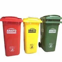 Aristo Wheeled Dustbin 120Ltr