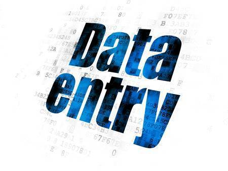 Online Data Entry Work Process