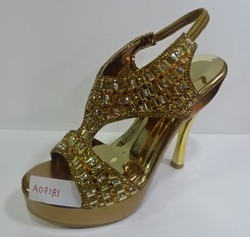 Ladies Fancy High Heels Sandals