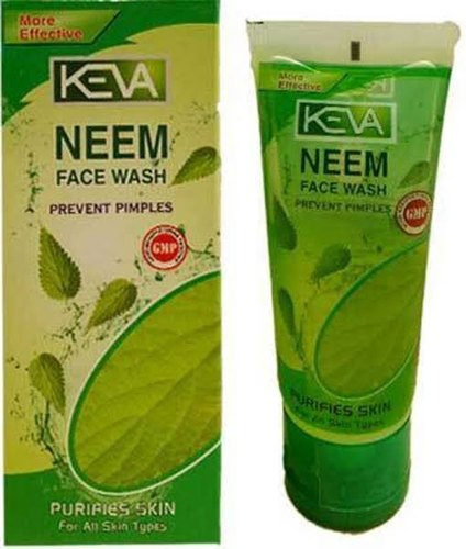 Gel Green Neem Facewash,  Packaging Size: 100mL