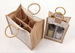 Jute Bag Wine Bottle Water Drinking Bottle Etc