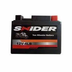 4 Lb Snider 12 V Two Wheeler Batteries