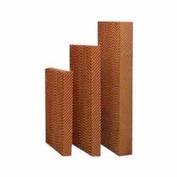 Brown HONEY COMB PAD/ CELLULOSE PAD
