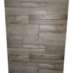 Gloss Normal Printing Wooden Pattern Wall Tiles, Packaging Type: Carton