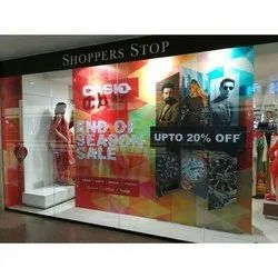 Offline Window Display Branding Services, in Pan India
