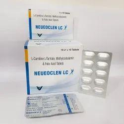 L-Carnitine L Tartrate, Methylcobalamin & Folic Acid Tablets