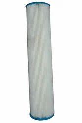 White Plate Filter Jumbo 20 Inch